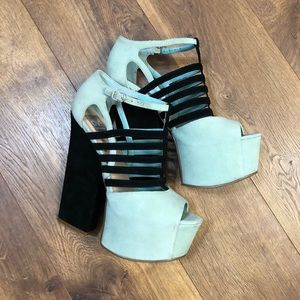 Dolce Vita Mint High Rise Shoes
